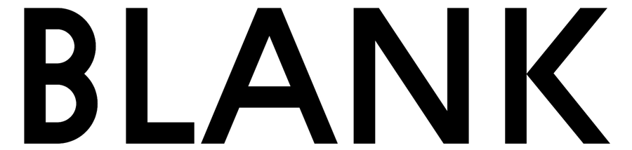 blank font
