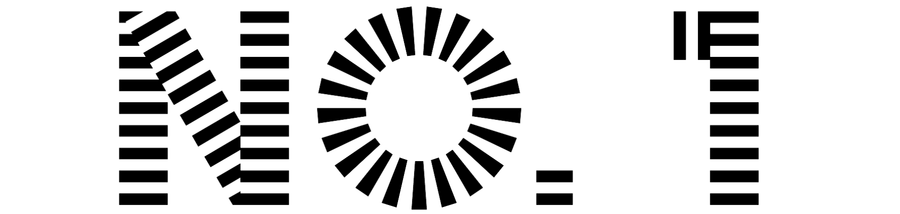 striped font