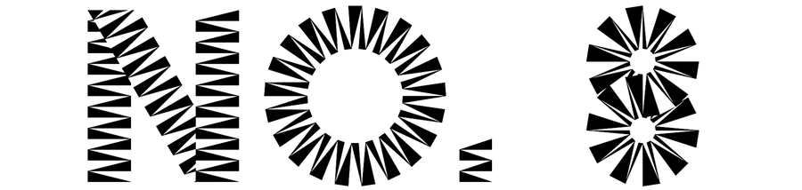 zig zag font
