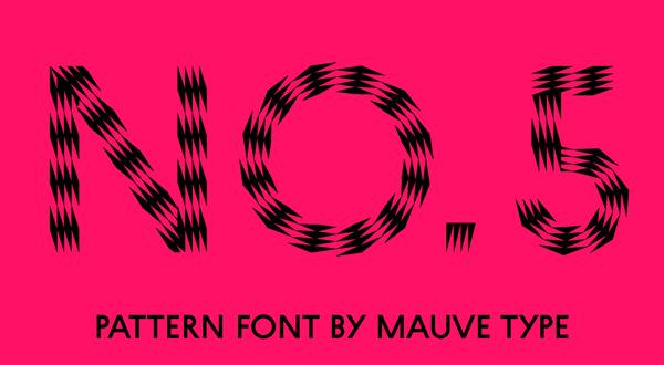 blurry font