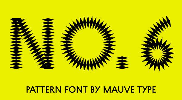 spiky font