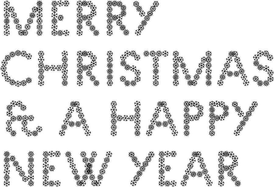 pattern font: Pattern No. 7